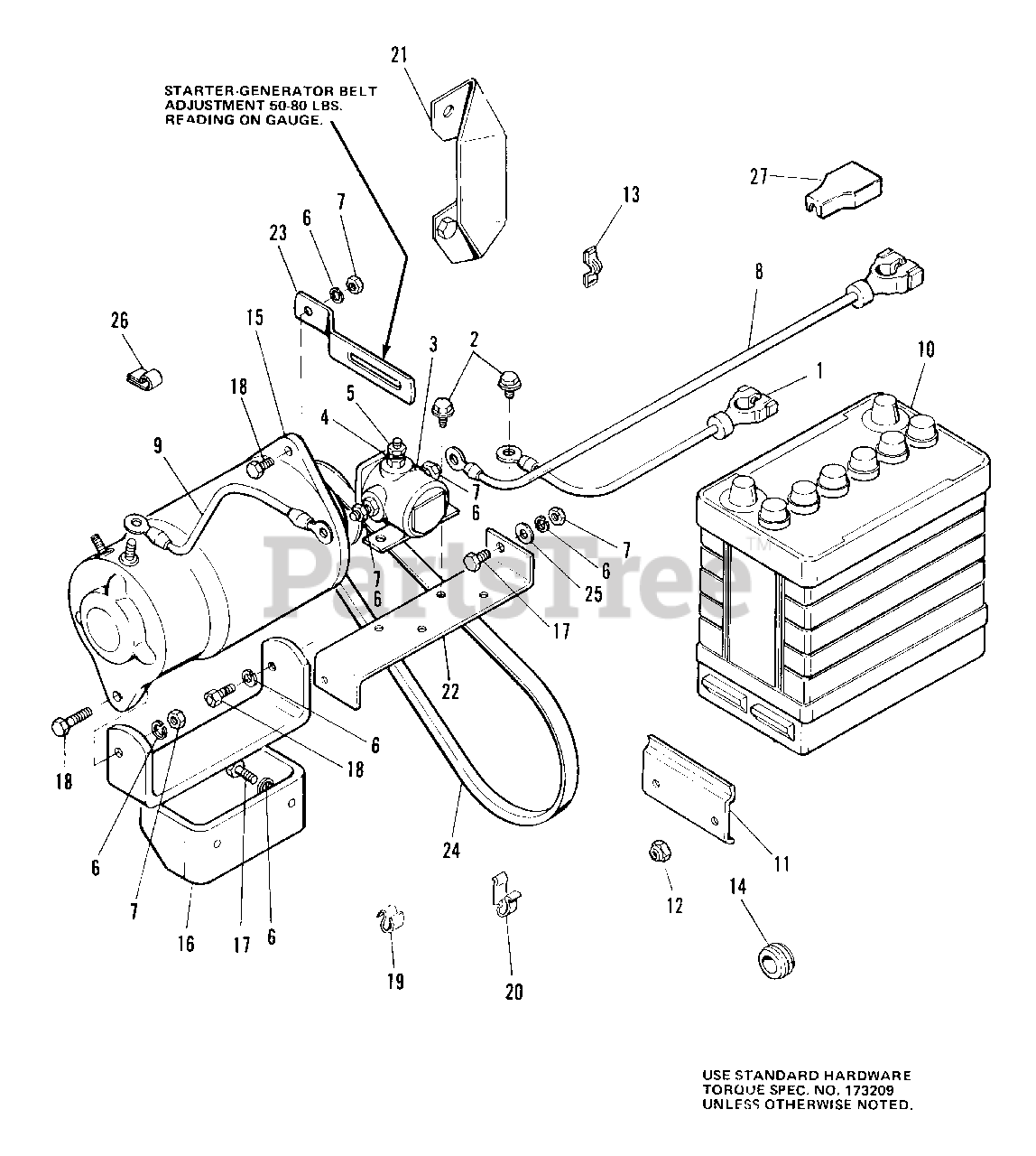 simplicity 7016 h (1690202) - simplicity garden tractor, 16hp electrical  group parts lookup with diagrams | partstree  partstree