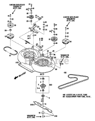 Troy Bilt Parts And Diagrams For 34073