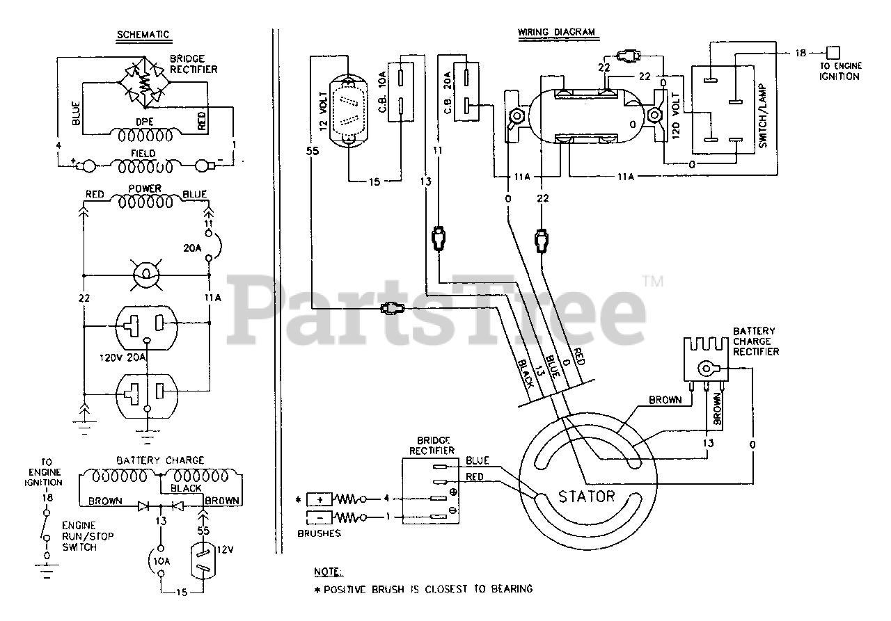 Craftsman 580 327040 9084 0 Craftsman 2 400 Watt Portable Generator Wiring Diagram Schematic Parts Lookup With Diagrams Partstree