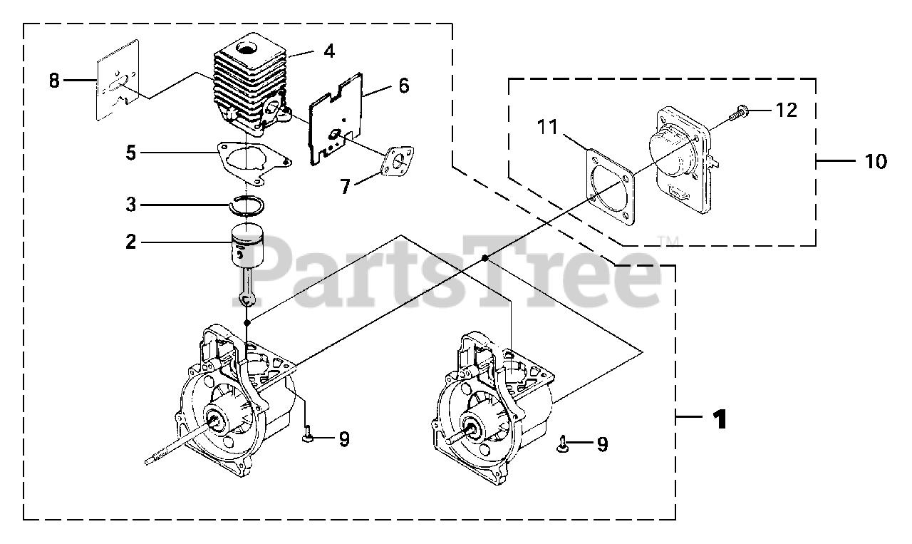 [DHAV_9290]  Homelite F 2020 (UT-20788) - Homelite String Trimmer Engine Internal Parts  Lookup with Diagrams | PartsTree | Trimmer Engine Diagram |  | PartsTree