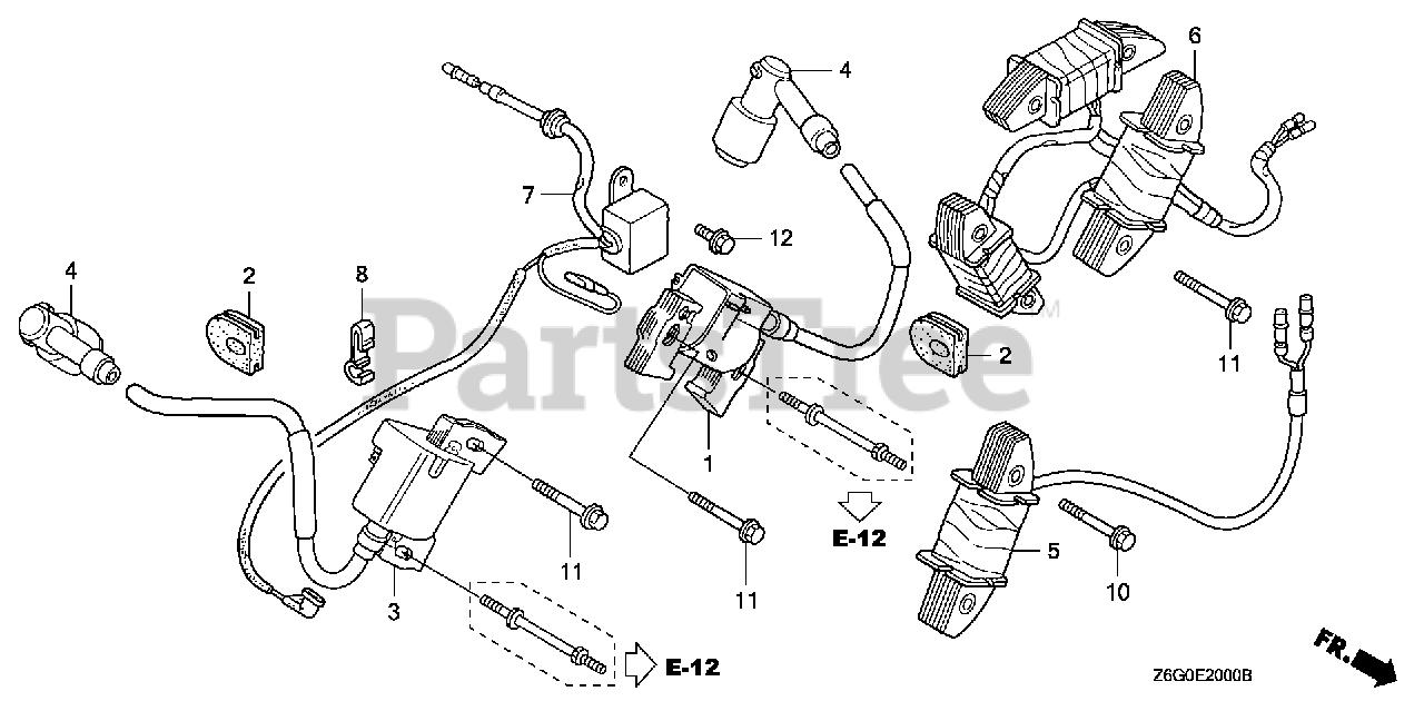 honda gx670 wiring diagram honda gx670 u txf5  gcask  honda engine  made in japan  sn  gx670 u txf5  gcask  honda engine