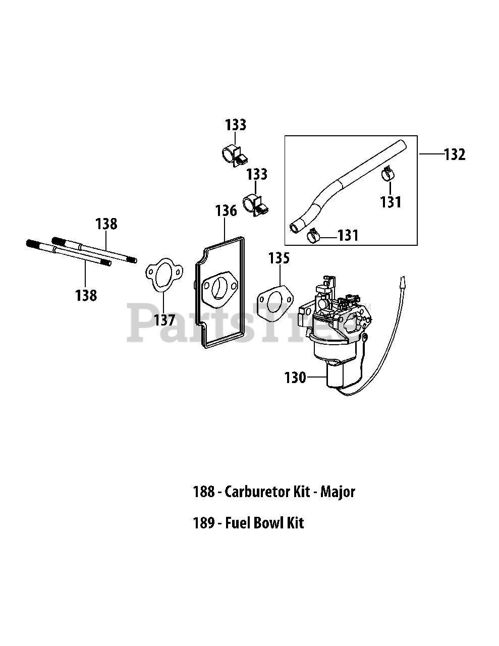 [ANLQ_8698]  Cub Cadet 4P90MUC - Cub Cadet OHV Engine 4P90MUC Carburetor Assembly Parts  Lookup with Diagrams | PartsTree | Before Ohv Engine Diagram |  | PartsTree