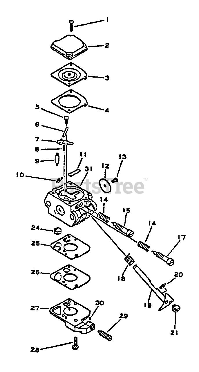Little Wonder SV-4 - Little Wonder Engine Carburetor Parts Lookup with  Diagrams | PartsTreePartsTree