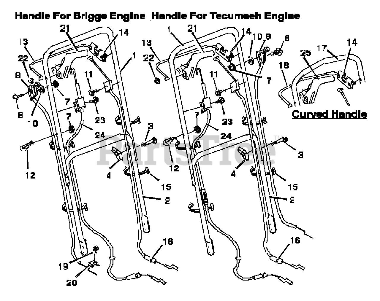 briggs engine diagram briggs   stratton 22767x41e briggs   stratton 22  walk behind briggs and stratton engine diagram briggs   stratton 22767x41e briggs