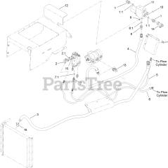Toro 25400 - Toro Pro Sneak 360 Vibratory Plow (SN: 313000001