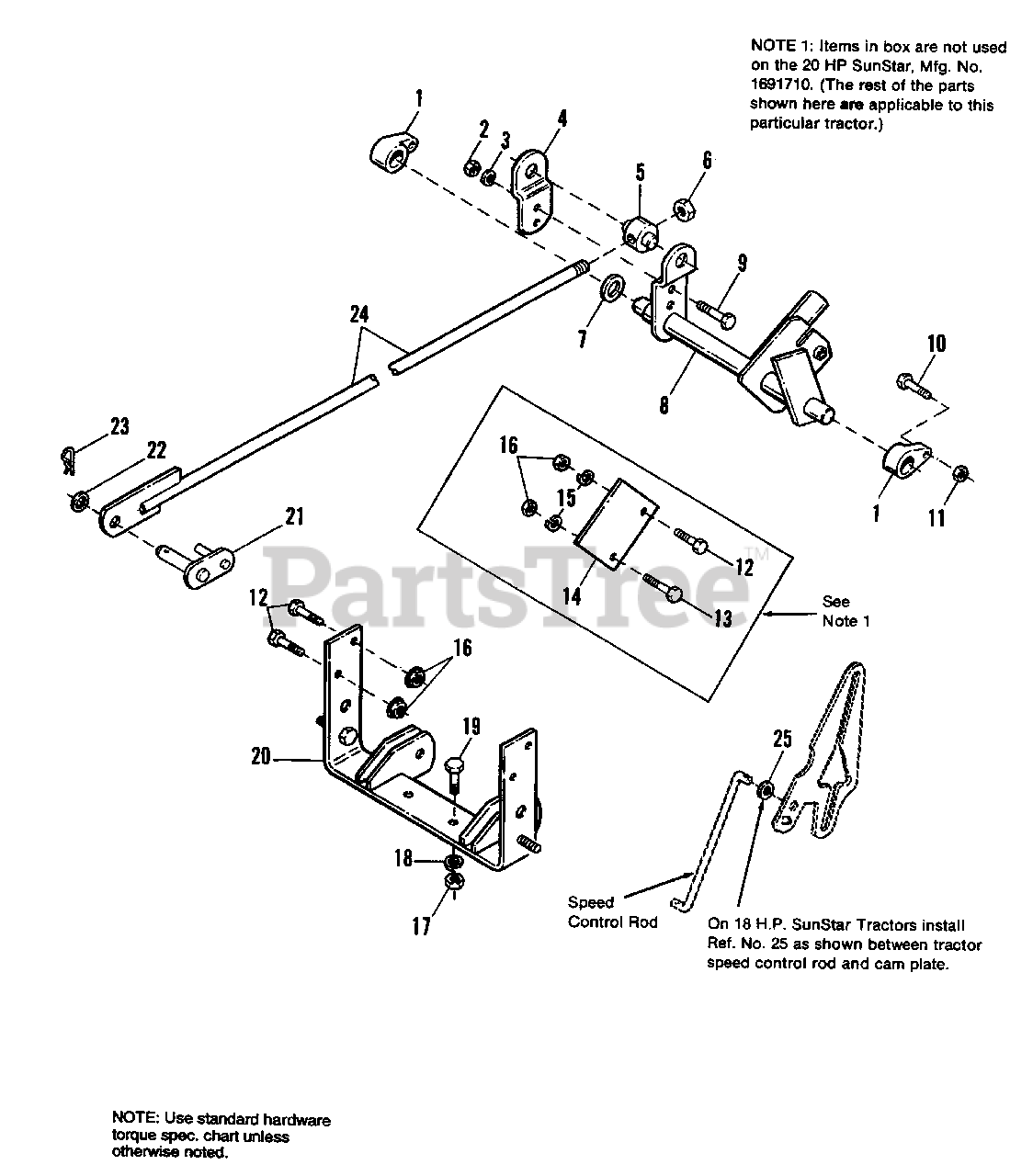 Simplicity 1691765 - Simplicity Rear Lift Kit Lift Group - Rear Parts  Lookup with Diagrams | PartsTree