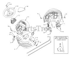 Cub Cadet 3186 (14A-668-100) - Cub Cadet Garden Tractor Diagrams and