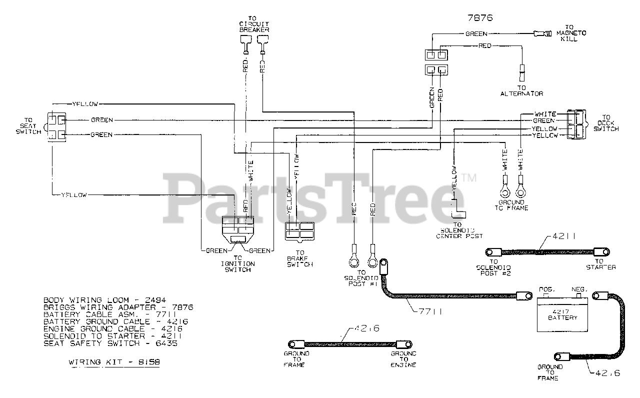 Toro Ignition Switch Wiring Diagram Toro Circuit Diagrams