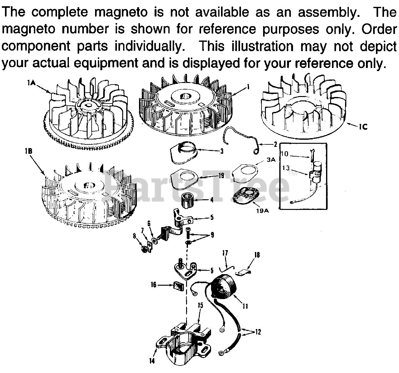 Tecumseh 30552 Magneto Breaker Cam