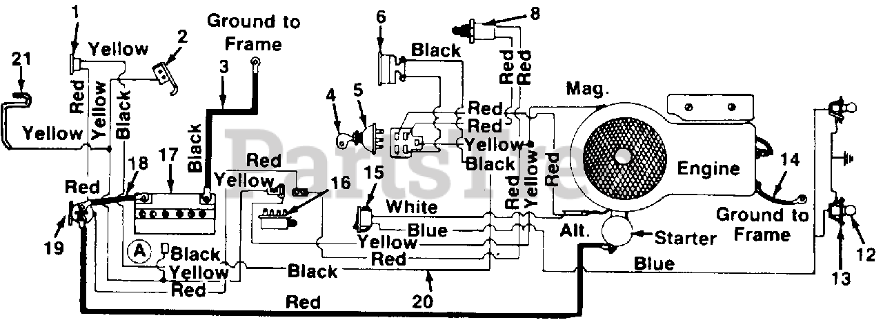 white tractor lt 13 wiring diagram white outdoor lt 12  138 656 190  white outdoor 38  lawn tractor  white outdoor lt 12  138 656 190