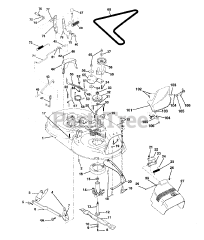 Husqvarna LTH 125 (954000782-A) - Husqvarna Lawn Tractor (1994-01) Parts  Lookup with Diagrams | PartsTree