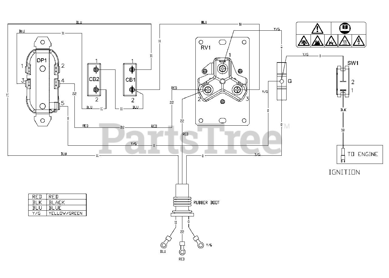 briggs & stratton 030676-01 - briggs & stratton 3,500 watt portable generator  wiring diagram (80022853wd) parts lookup with diagrams | partstree  partstree