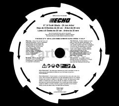 Echo 99944200422 - Echo Blade Conversion Kit Diagrams and Parts List