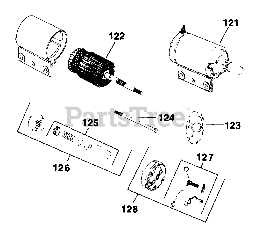 Kohler K301 47601 Kohler K Series Engine Made For Gravely 12hp 9kw Electric Start Cont 11 10 37 Tp 2097 Parts Lookup With Diagrams Partstree