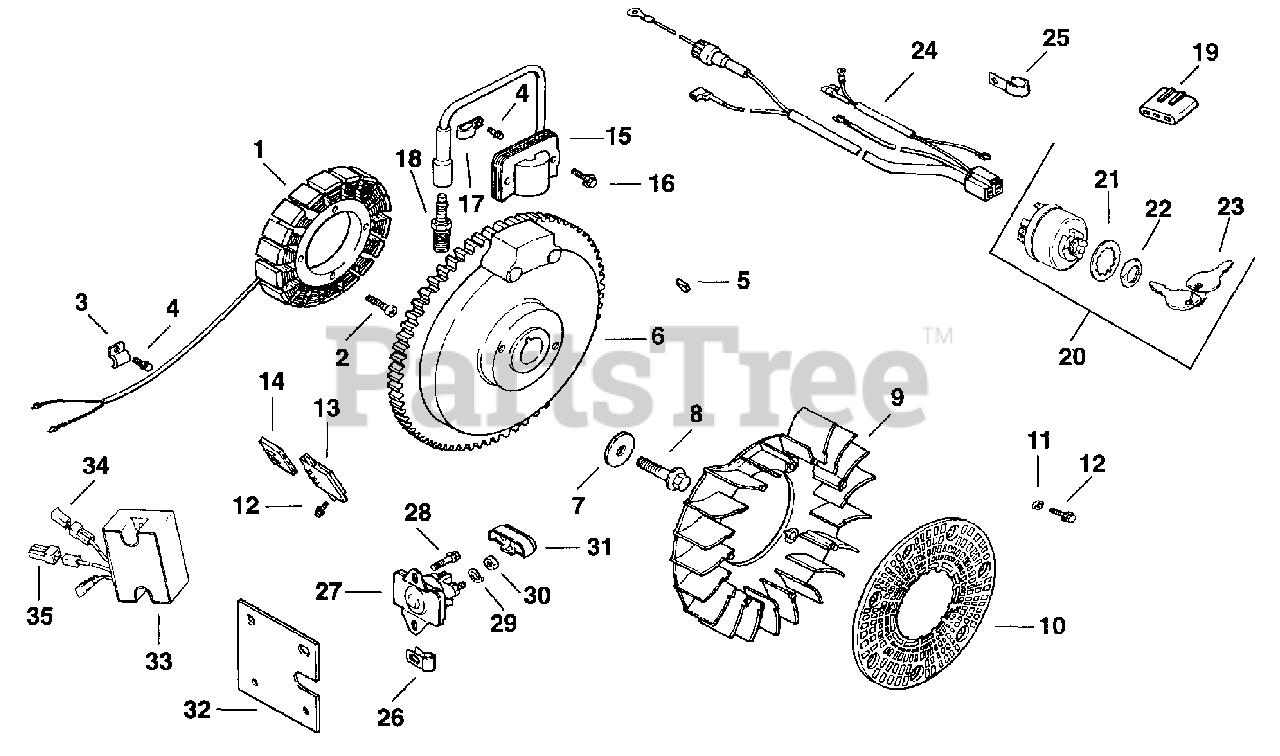 [SCHEMATICS_4US]  Kohler CH12.5-1905 - Kohler Command PRO Single Engine, Basic Version, 12.5hp  Ignition/Electrical 5-27-41 Parts Lookup with Diagrams | PartsTree | 12 Hp Kohler Engine Diagram Wiring Schematic |  | PartsTree