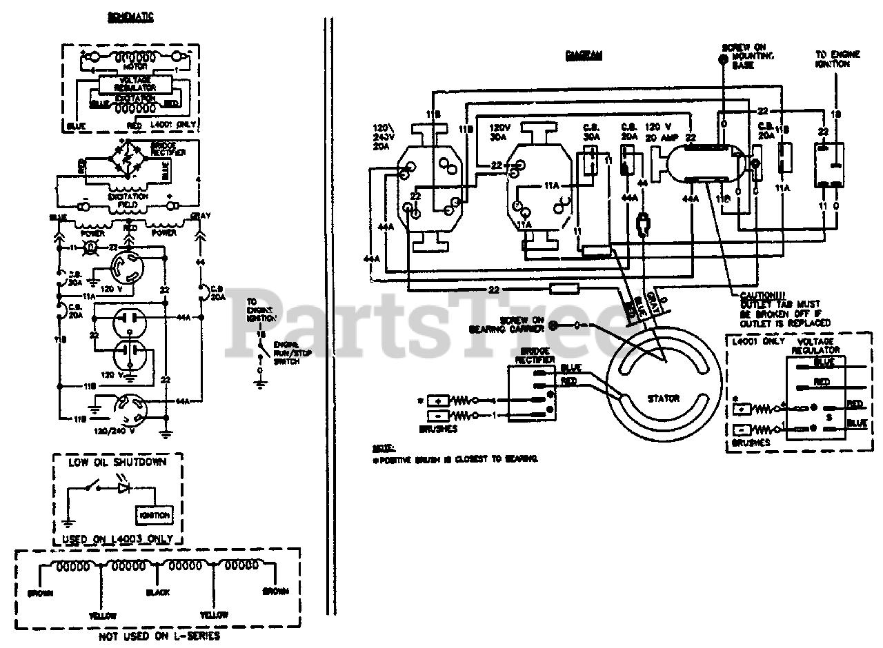 Wiring Diagram Generac 4000xl