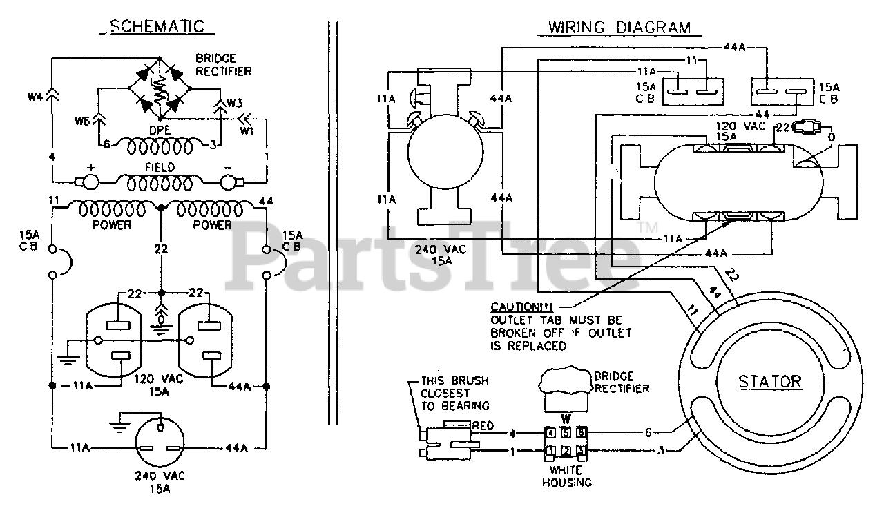 Generac T4000 (9186-0) - Generac 4,000 Watt Portable Generator Wiring  Diagram Parts Lookup with Diagrams   PartsTree   Generac 4000 Wiring Schematic      PartsTree