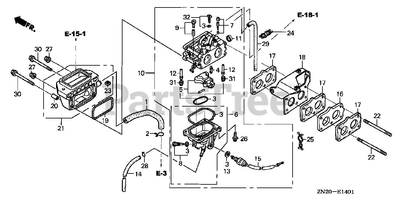 Honda Gxv670 Taf2  Gjah  - Honda Engine  Made In Japan  Sn  Gjah-1000001