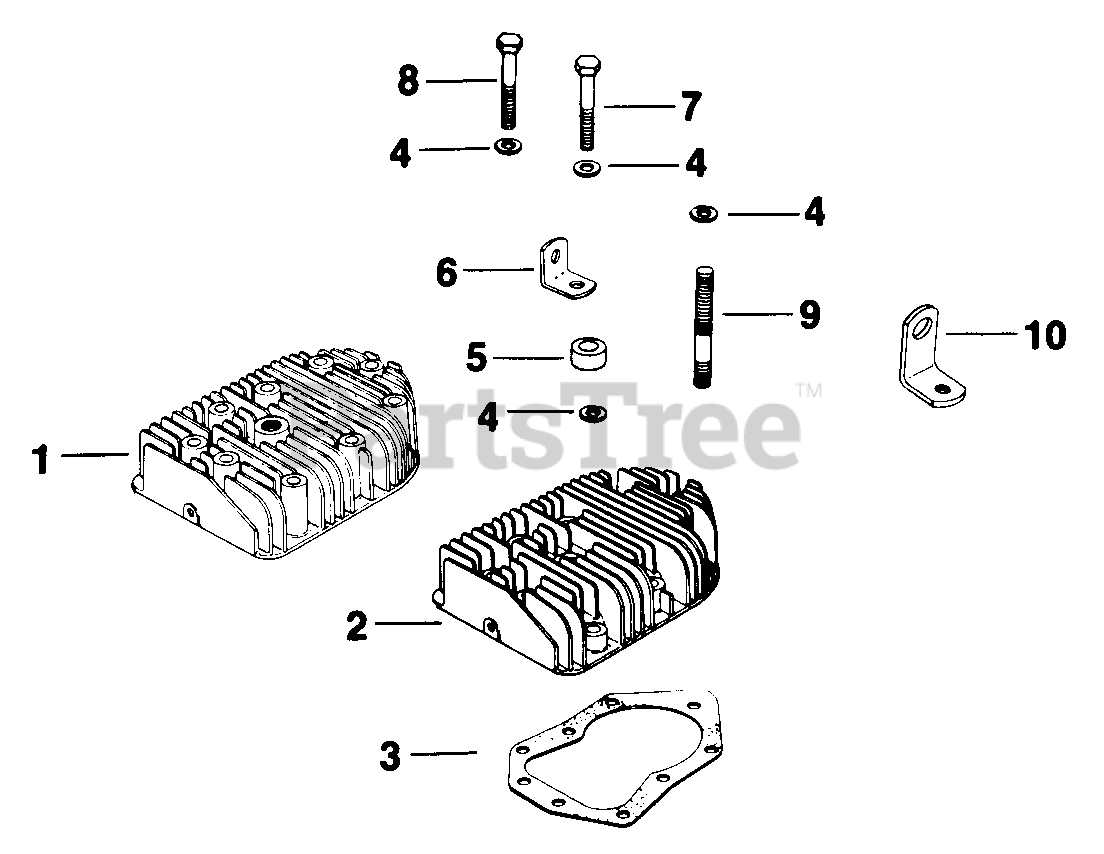 [FPWZ_2684]  Kohler K301-47293 - Kohler K-Series Engine, Made for Harlo Products, 12hp,  9kW Cylinder Head (TP-2097) Parts Lookup with Diagrams | PartsTree | 12 Hp Kohler Engine Diagram Wiring Schematic |  | PartsTree