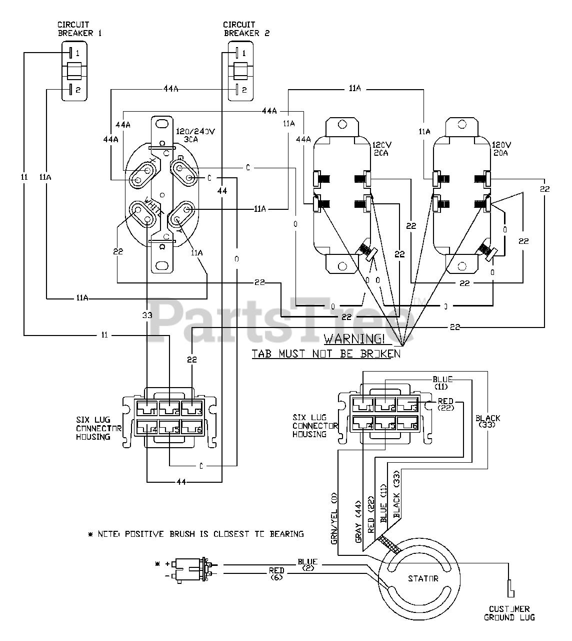 [XOTG_4463]  Snapper 030215-0 - Snapper 5,600 Watt Portable Generator Wiring Diagram  (190536) Parts Lookup with Diagrams   PartsTree   Portable Generators Repair Wiring Diagram      PartsTree