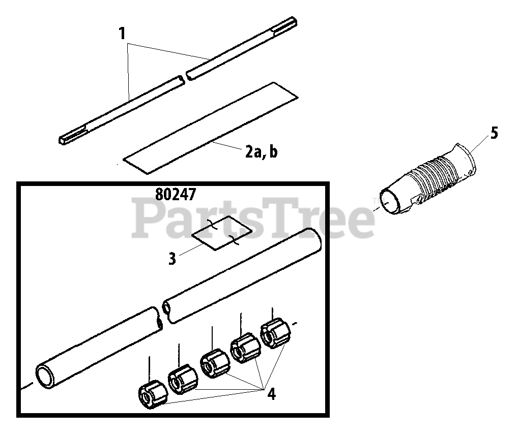 Shindaiwa Parts On The Outer Tube Diagram For T 231
