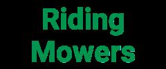 Riding Mowers