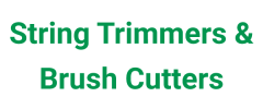String Trimmers & Brush Cutters