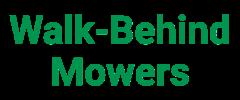 Walk-Behind Mowers